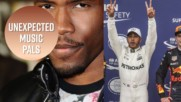 Lewis Hamilton is making music with Frank Ocean