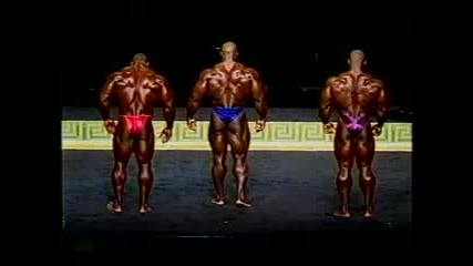 Ronnie Coleman Mr. Olympia 1999 2