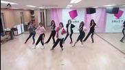 [бг превод] A Pink - Hush Dance Practice