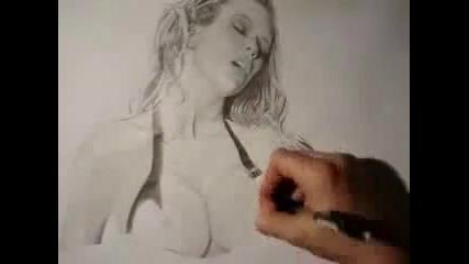 Jenna Jameson Sexy drawing