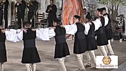 Хоро за рамо . Ζάραμο-χασαπιά, Ν. Φλώρινας (χοροστάσι) (1)