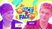 Soy Luna 3 - Лице в лице - Лионел и Нико + Превод