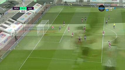 Нюкасъл - Арсенал 0:1 /първо полувреме/