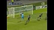 Лион - Барселона 2:2 Жуниньо Гол