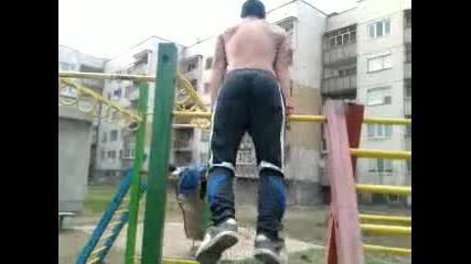 младеж тренира :d