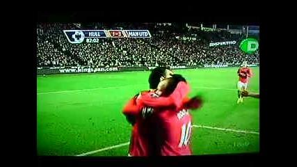 27.12 Бербатов Гол , Най - лесният му гол. Хъл Сити - Манчестър Юнайтед