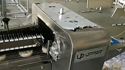 нашата нова разработена автоматична пакетираща линия за опаковане на няколко броя