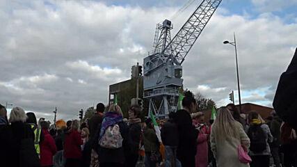 Ireland: Anti-lockdown protesters bring Dublin traffic to standstill