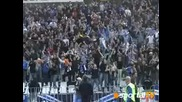 10.05 Радост в Сектор Б на кочината след гола на Еньо Кръстовчев