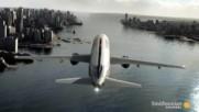 Невероятно! – Вижте как един самолет се приземява в реката! Резултатът е Изумителен!