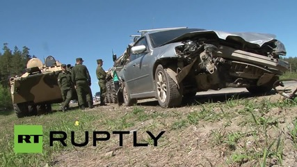 Russia: Russian APC involved in Yekaterinburg crash - reports