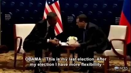 Obama caught on open mic with Medvedev