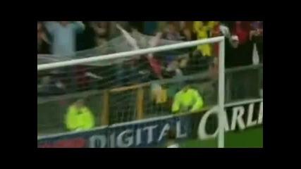 Димитър Бербатов е в топ 5 на най - добри голове със задна ножица на Манчестър Юнайтед