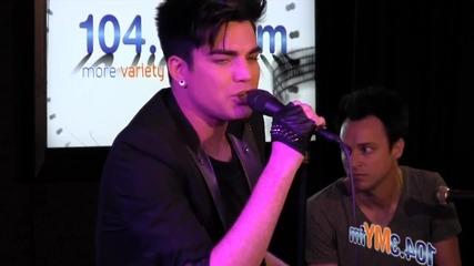 Adam Lambert - Never Close Our Eyes - Live (1043myfm)