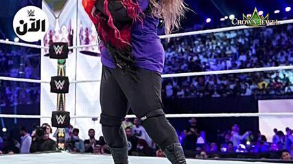 نتائج عرض كراون جول بالسعودية – WWE الآن