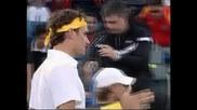 Федерер срещу Надал е финалът на демонстративния турнир в Абу Даби