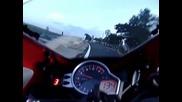 Honda Cbr1000rr 2008 299km_h de manha ! Derretendo O Joelho !