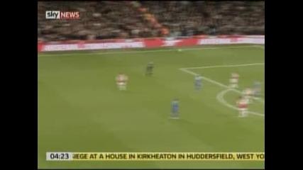 Арсенал спря Челси по пътя към титлата
