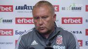 Николай Киров: Има тактическа дисциплина в играта на Левски