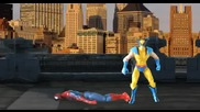 Spider man Vs Wolverine -deathmatch-