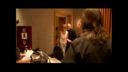 Celine Dion - A Song For You // Селин Дион в студиото