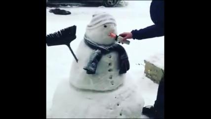 Всеки луд с номера си - снежни клиенти...