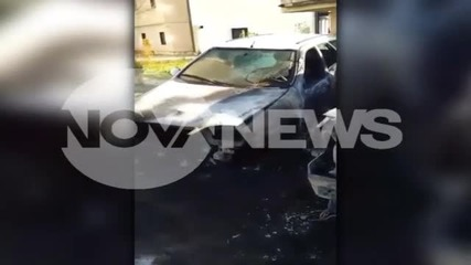 Четири коли изгоряха в столичен квартал