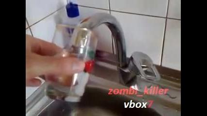 Мивка Смуче Вода, вместо да тече