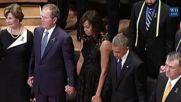 Джордж Буш потанцува на официално събитие