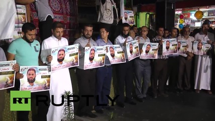 State of Palestine: Islamic Jihad march for hunger striker after he falls into coma
