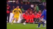 Шалке 04 - Левски 0:1.невероятната Атака За Гола на Емо Ангелов