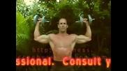 Бодибилдинг упражнения - Раменна преса с дъмбели