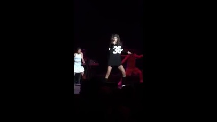 Zendaya sings Replay live in Albany