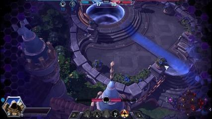 Amazing backdoor on Heroes of the Storm.