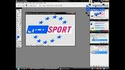 Как да си направим лого като Euro Sports