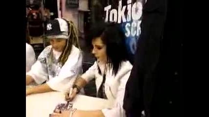Tokio Hotel signing