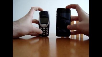 Iphone 4s vs Nokia 3310