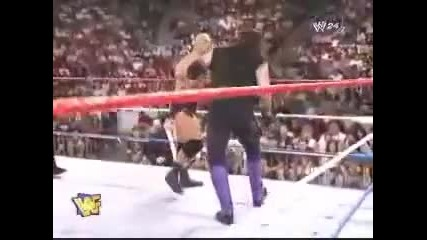 The Undertaker vs Stone Cold Raw 29 7 96 1/2