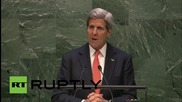 USA: Future of NPT depends on unity of world in rejecting nuclear proliferation says Kerry