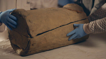 Отваряне на хилядолетен ковчег | Изгубените съкровища на Египет | National Geographic Bulgaria