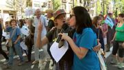 Spain: Ten thousand march for refugees' rights in Barcelona