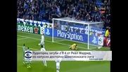 """""""Лудогорец"""" загуби с 0:4 от """"Реал"""" (Мадрид) и напусна достойно Шампионската лига"""
