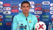 Russia: Socceroos wary of 'best team' Chile ahead of Sunday's duel in Moscow