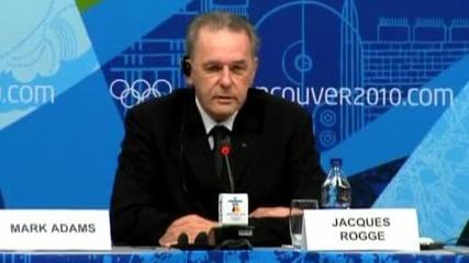 Смърт помрачи откриването на 21 - те Олимпийски игри във Ванкувър