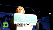 Spain: Ahora Madrid celebrate municipal election gains with street rally