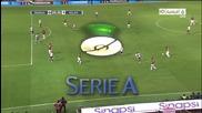 Андреа Пирло отново показа класа с феноменален гол срещу Парма - Milan vs Parma 1 - 0 10/3/10