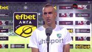 Камбуров: Чета играта и знаех къде ще отиде топката при гола