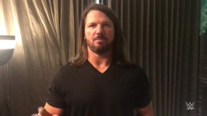 AJ Styles teases his phenomenal gear for Sunday's Match against Samoa Joe: SummerSlam Diary