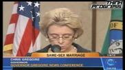 Губернаторът на Вашингтон в защита на гей браковете