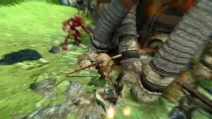 Enslaved Pole Fighting Gameplay